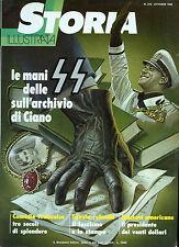 """"""" STORIA ILLUSTRATA N° 275.OTT.1980 """" Le mani dell SS. sull'archivio di CIANO """""""