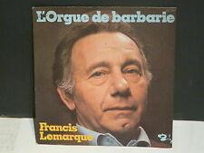 FRANCIS LEMARQUE L'orgue de barbarie 62034
