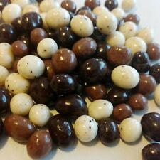 CHOCOLATE COVERED ESPRESSO COFFEE BEANS TRICOLOR Choose 1/2 LB - 10 LB