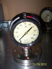 Ashcroft 1279 Duragauge Pressure Gauge 100 PSI & Type 102 Diaphragm Seal Capsule