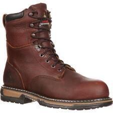 Rocky Men's IronClad Waterproof Work Boot Brown FQ0005693