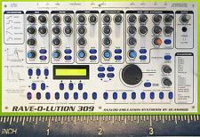 Quasimidi Sirius Raven Verwandlung Synthesizer Kühlschrank Magnet