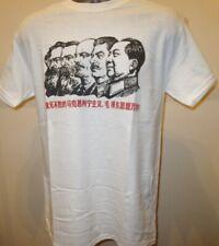 Icons of Communism T Shirt Propaganda Poster W092 Marx Lenin Stalin Mao Soviet