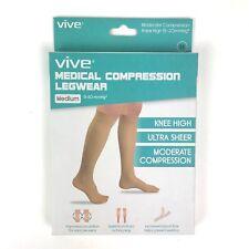 Medical Compression Legwear Sock Womens Mens Knee High Therapy 15 - 20 mmHG