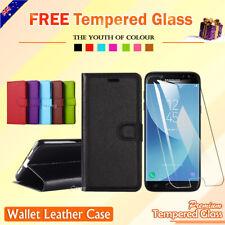 For Samsung Galaxy J2 Pro 2018 J5 J7 Pro 2017 Wallet Leather Flip Case Cover