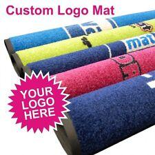 Custom Business Logo Mat Personalised Bespoke Design Matting