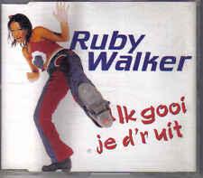 Ruby Walker- ik gooi je dr uit cd maxi single