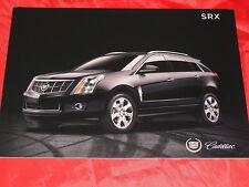 Cadillac SRX folleto de 2011