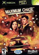 ***MAXIMUM CHASE ORIGINAL XBOX DISC ONLY~~~