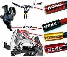 KCNC Schaltungszug- Bremszug- Außenhülle Endkappe hülse rot gold xt xtr X0 tune