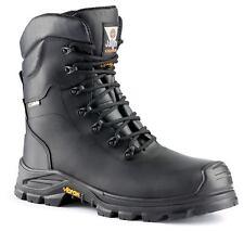 Jallatte Jalsiberian JJV33 Black Safety Work Gore-Tex Toecap Vibram Boots