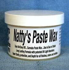 Poorboys Pasta de cera blanca Natty's Carnauba Cera Pasta Poorboys nattys Gratis Reino Unido P&p