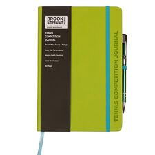 Tennis Competition Notebook - Hardback A5 - Tennis Match Journal - Tennis