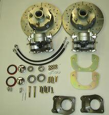1967 1968 1969 1970 mustang disc brake conversion new  4 lug 6 cylinder brakes