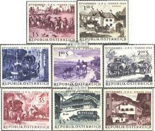 Österreich 1156-1163 (kompl.Ausg.) FDC 1964 Weltpostkongress EUR 10