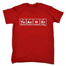 Teacher Periodic Table Design MENS T SHIRT cute geek nerd chemistry funny gift