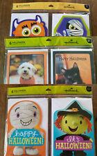 ONLY 99¢ ! Halloween CARDS *6 Greeting CARDS + Envelopes** Hallmark Kids Monster