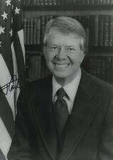 Jimmy Carter Autogramm signed 20x30 cm Bild s/w