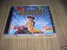 Little Mermaid 2 CD Soundtrack sealed OOP Disney OST NEW