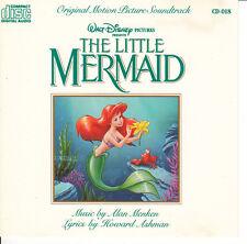The Little Mermaid-1989-Orig Soundtrack-20 Tracks-CD