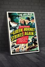 The Green Hornet Strikes Again 1941 Movie Poster Framed