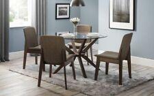 Julian Bowen Chelsea Glass Dining Range - Solid Beech/Tempered Glass - Free Del