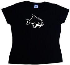 Baby Dolphin Ladies T-Shirt