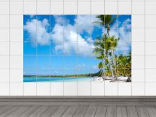 Fliesenaufkleber Fliesenbild Strand mit Meerblick Bad