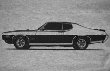 1969 Pontiac GTO JUDGE t-shirt, 69 Le Mans the goat