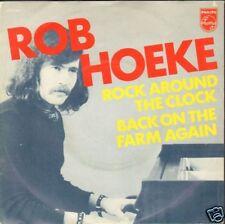"ROB HOEKE - Rock Around The Clock (1973 VINYL SINGLE 7"" HOLLAND)"