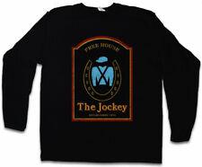 The jockey i manga larga T-Shirt Shameless bar coartada pub Frank Gallagher bar símbolo
