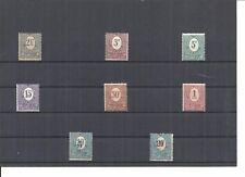 Oberschlesien 1920, Einzelmarken aus MiNrn: 1 - 12 **, Auswahl, postfrisch **