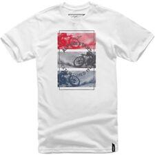 Alpinestars brûlé T-Shirt Blanc - 1017-72026