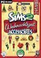 Die Sims 2: Weihnachtszeit Accessoires (PC, 2006, DVD-Box)