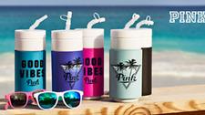 Victoria's Secret PINK Water Bottle & Sunglass BottleOpener Set NEW choose color