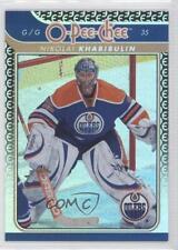 2009 O-Pee-Chee Foil Rainbow #658 Nikolai Khabibulin Edmonton Oilers Hockey Card
