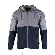 Beautiful Giant Men's Full Zip Long Sleeve Lightweight Windbreaker Jacket