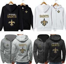 New Orleans Saints Men Women Hoodie Hooded Sweatshirt Jacket Football Fans Gift