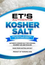 100% Australian gourmet KOSHER SALT. FREE POSTAGE Order before 2pm we post today
