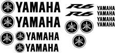 p1017 - Kit Yamaha R6 Moto Motosport Pegatina Vinilo Adhesivo Sticker Casco