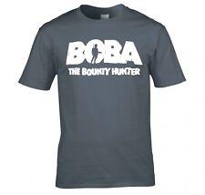 "Star Wars ""Boba La Bounty Hunter"" T Shirt Nueva"