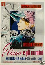 Elena et les hommes Ingrid Bergman movie poster