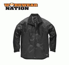 Dickies Fulton Contract Jacket, Waterproof Work Coat Black