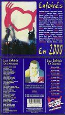 CD - LES ENFOIRES EN 2000 : LES RESTOS DU COEUR