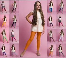 Kinderleggings lang Röhrenhose aus Baumwolle Leggins 110 bis 146, 16 Farben