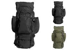 "Mil-Tec Rucksack ""Recom"" Polyester Backpack Trekking Wanderrucksack 88 Liter"