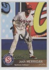 2016 Grandstand Spokane Indians #14 Josh Merrigan Rookie Baseball Card
