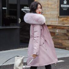New Women Long Coat Autumn Winter Warm Velvet Thicken Faux Fur Coats Parka