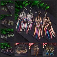 New Fashion Bohemian Elegant Hook Drop Dangle Tassels Handcrafted Women Earrings
