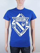NEW Diesel mens Size XS S M blue crew neck t shirt